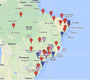 tfg mapa brasil titulaciones